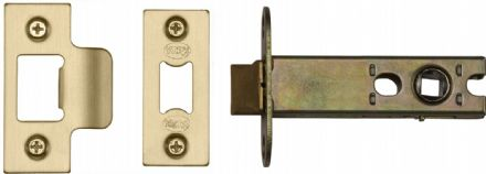 M Marcus York Security YKAL4-SB Architectural Mortice Latch 102mm Satin Brass
